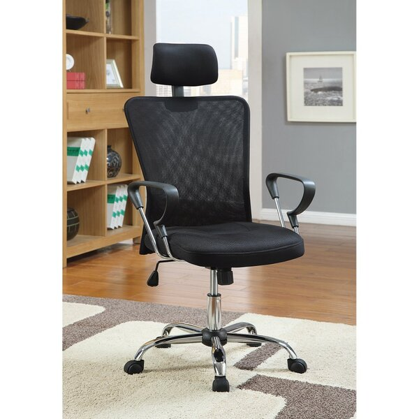 Lanz Designer Mesh Executive Chair by Symple Stuff