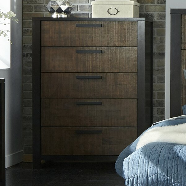 Arrie 5 Drawer Chest by Laurel Foundry Modern Farmhouse