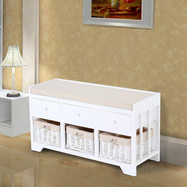 Vergara Upholstered Storage Bench by Red Barrel Studio