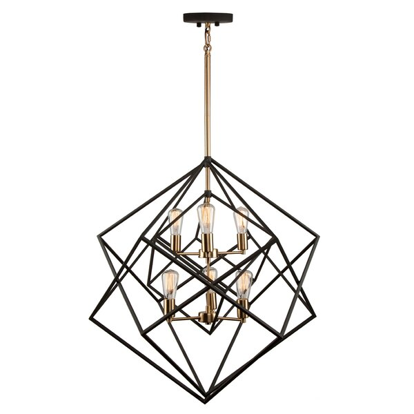 Holzman 6-Light Chandelier by Ivy Bronx