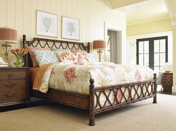 Open Headboard Frame King pic