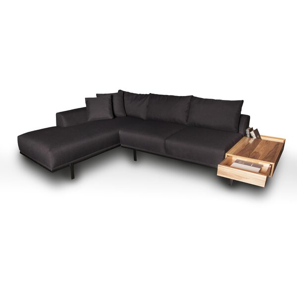 Samantha Left Hand Facing Sectional By 17 Stories