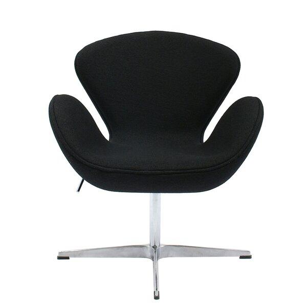 Torney Swivel Lounge Chair by Orren Ellis