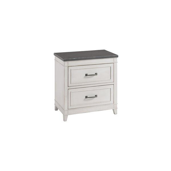 Del Mar 2 Drawer Nightstand by Alcott Hill