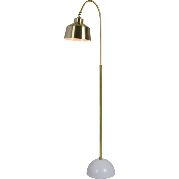 Dickison 58 Arched Floor Lamp by Corrigan Studio