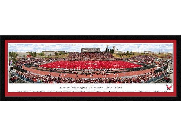 NCAA Eastern Washington University by Christopher Gjevre Framed Photographic Print by Blakeway Worldwide Panoramas, Inc