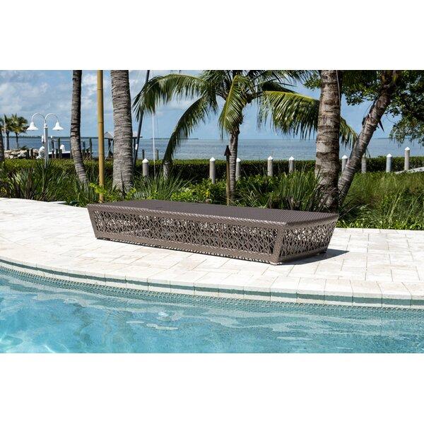 Maldives Reclining Chaise Lounge by Panama Jack Outdoor Panama Jack Outdoor