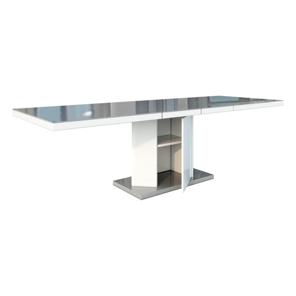 Borgen Storage Extendable Dining Table by Orren Ellis