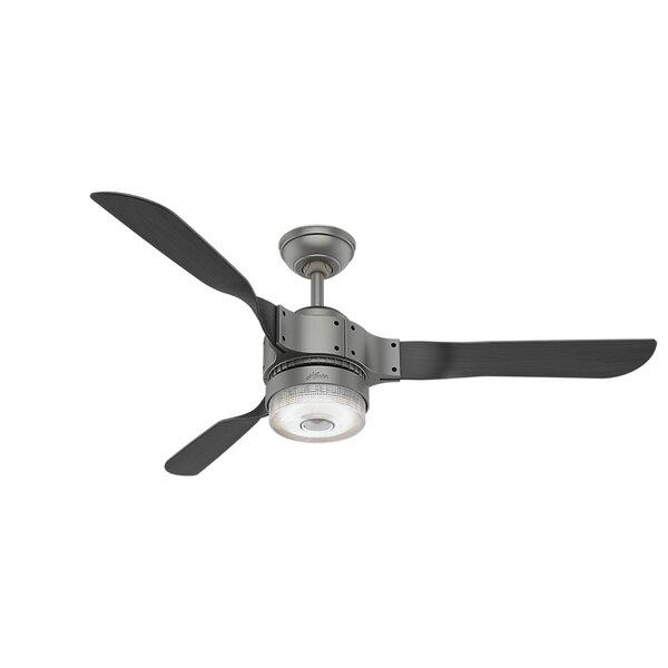 54 Apache Wi-Fi 3 Blade Ceiling Fan by Hunter Fan