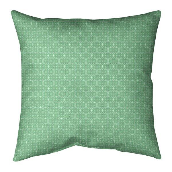 Kitterman Doily Indoor/Outdoor Throw Pillow