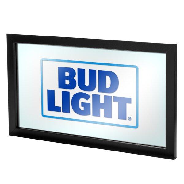 Bud Light Deluxe Framed Vintage Advertisement by Trademark Global