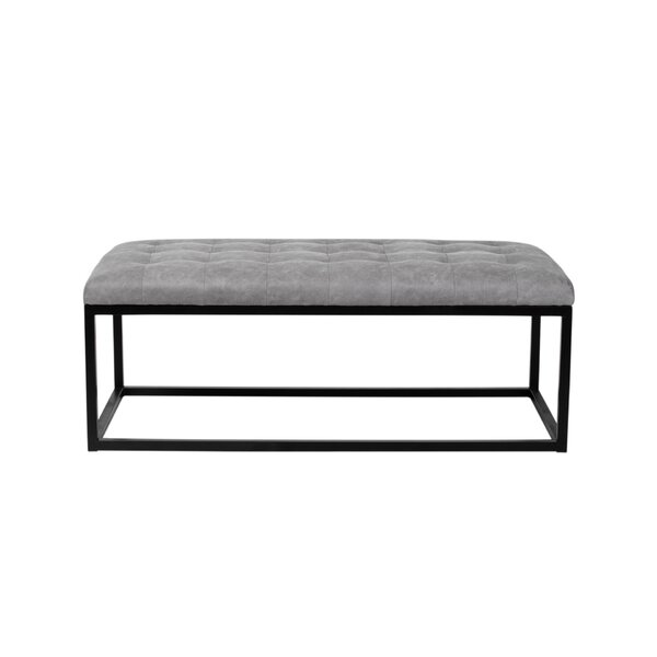 Crowther Tufted Ottoman by 17 Stories