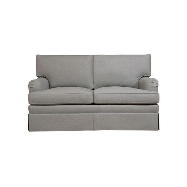 Modern Collection Shefield Loveseat by Duralee Furniture by Duralee Furniture