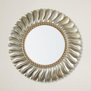 Willa Arlo Interiors Karn Vertical Round Resin Wall Mirror