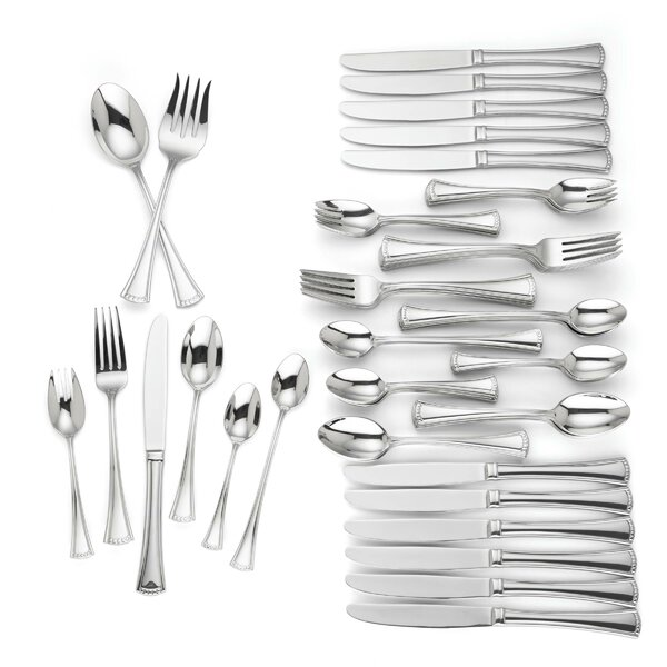 Colonial 74 Piece Flatware Set by Lenox