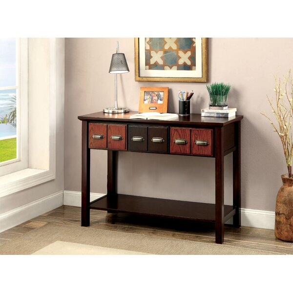 Hazel 3 Drawer Console Table by Darby Home Co