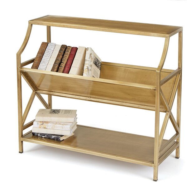 Periodical Two Shelf Standard Bookcase by Hip Vintage