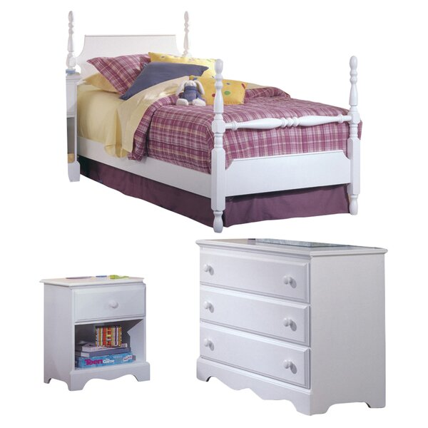 Kai Four Poster Configurable Bedroom Set by Harriet Bee