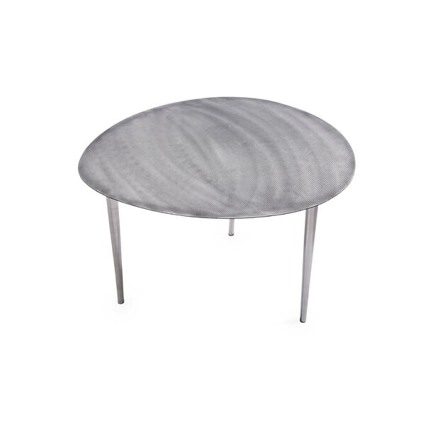 Silverstone End Table by Foreign Affairs Home Decor