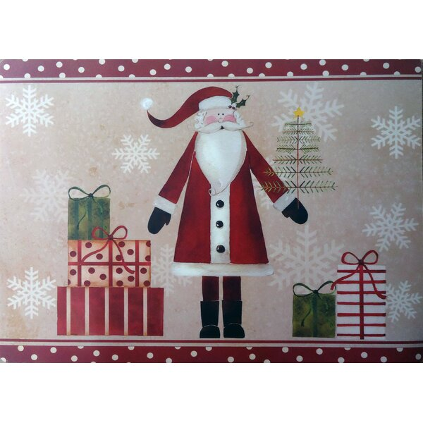 Saint Nick Expanded Placemat (Set of 4) by The Holiday Aisle