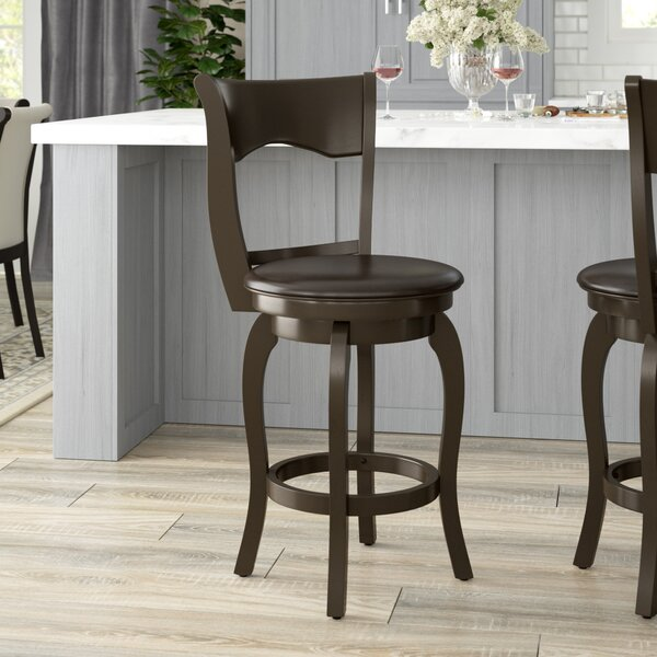 Octavius 24 Swivel Bar Stool by Darby Home Co
