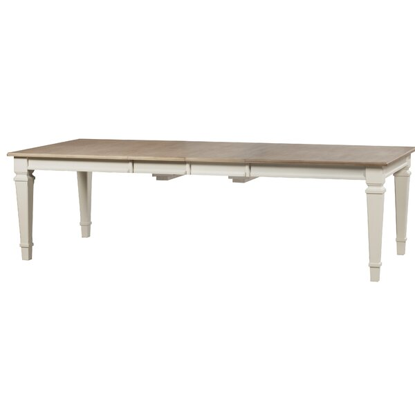 Ashe Extendable Solid Wood Dining Table by August Grove August Grove®