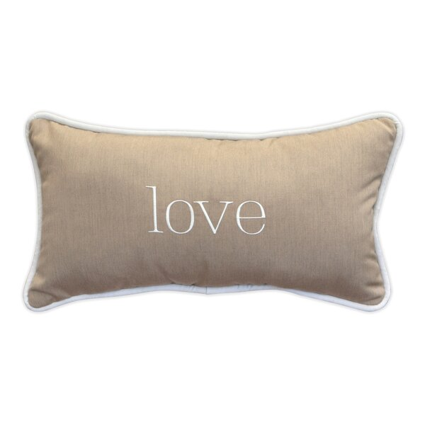Shatzer Sunbrella Indoor / Outdoor Lumbar Pillow
