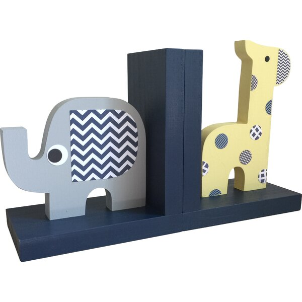 Safari Bookend (Set of 2) by Maple Shade Kids