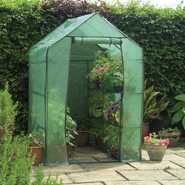 4 Ft. W x 6.5 Ft. D Greenhouse by Gardman