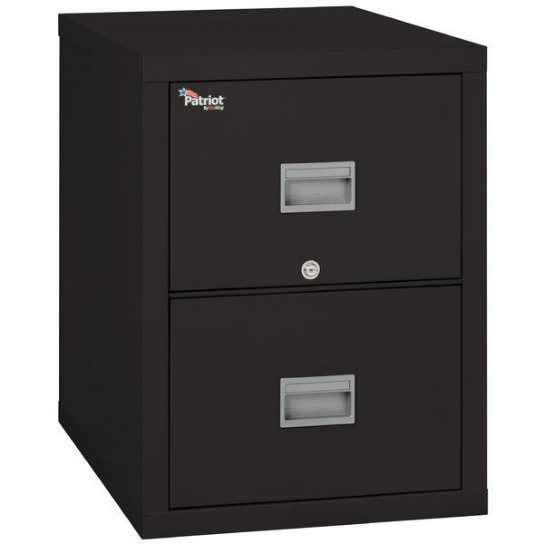 Patriot 2 Drawer Vertical Filing Cabinet by FireKing