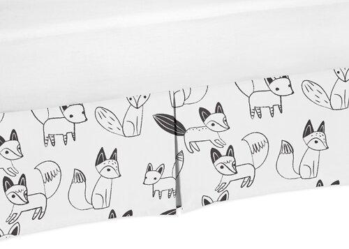 Fox Crib Skirt by Sweet Jojo Designs