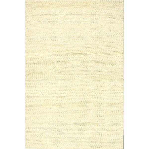 Chessington Hand-Woven Ivory Area Rug by Gracie Oaks