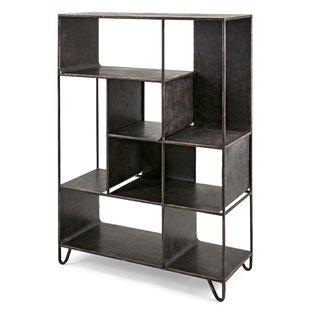 Gray Standard Bookcase by Trent Austin Design