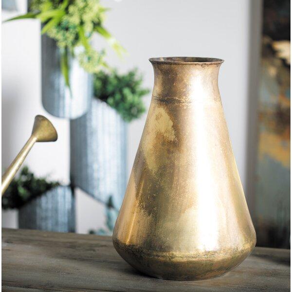 Gebhard Rustic Table Vase by Gracie Oaks