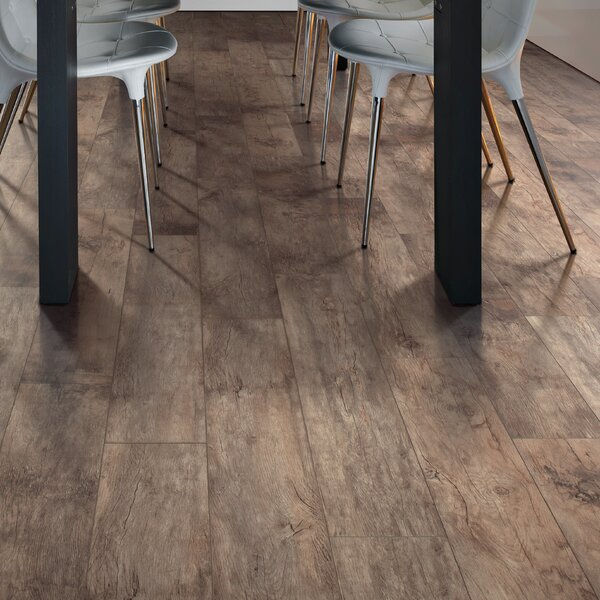Cashe Hills 7.5 x 47.25 x 7.87mm Oak Laminate Flooring in Brown by Mohawk Flooring