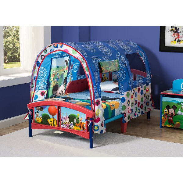 Disney Mickey Mouse Toddler Bed By Delta Children by Delta Children Today Sale Only