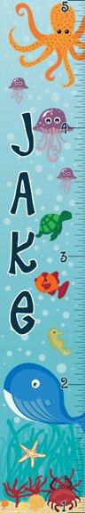 Ocean Boy Growth Chart by Mona Melisa Designs