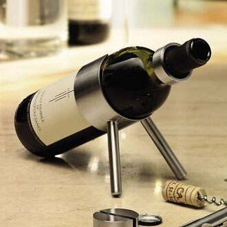 Cino 1 Bottle Tabletop Wine Rack by Blomus