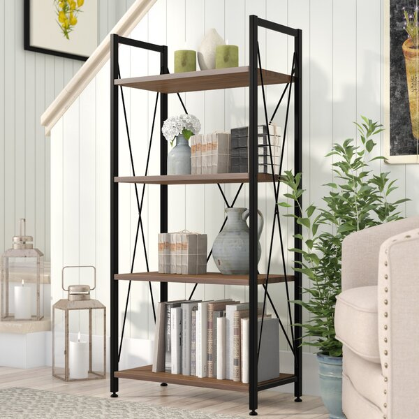 Review Wadley Etagere Bookcase