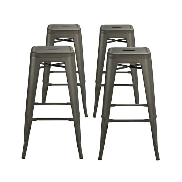 Ashlyn 30 Metal Bar Stool (Set of 4) by Williston Forge