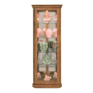 Lighthouse Tempo II Lighted Corner Curio Cabinet by Philip Reinisch Co.