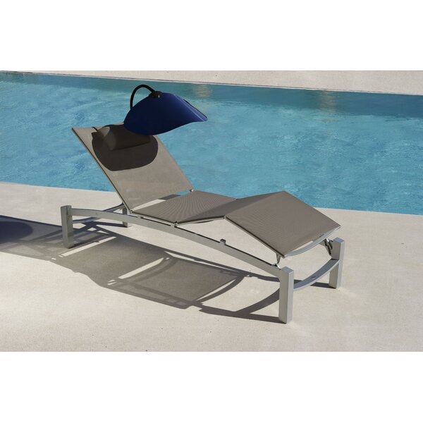 Folding Beach Chair Shade by Les Jardins