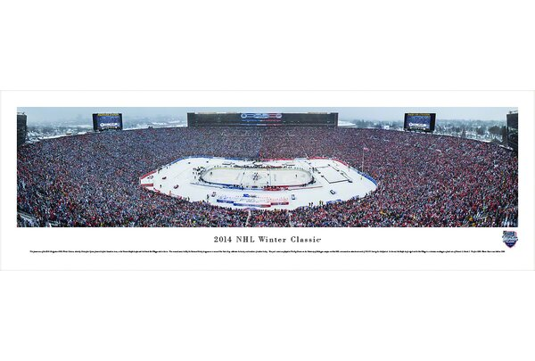 NHL Winter Classic by Christopher Gjevre Photographic Print by Blakeway Worldwide Panoramas, Inc