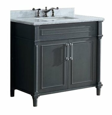 Continental 36 Single Bathroom Vanity Set by Laviva