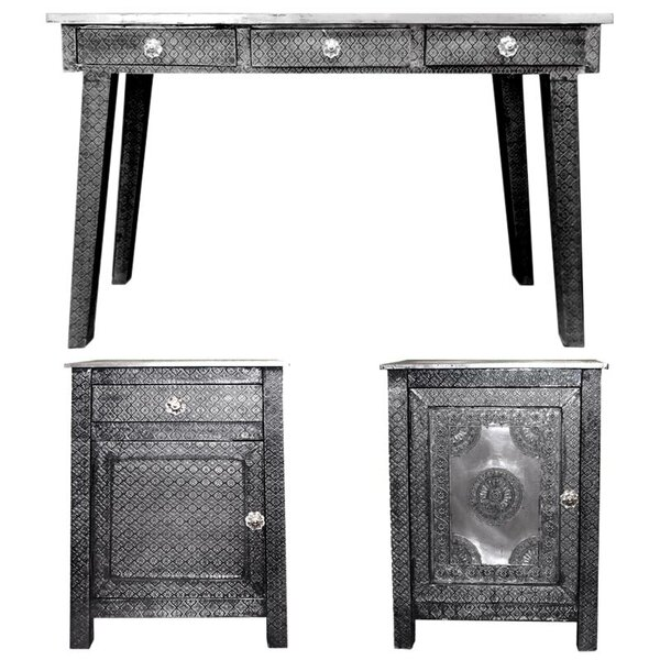 Ona 3 Piece Console Table Set By Bloomsbury Market