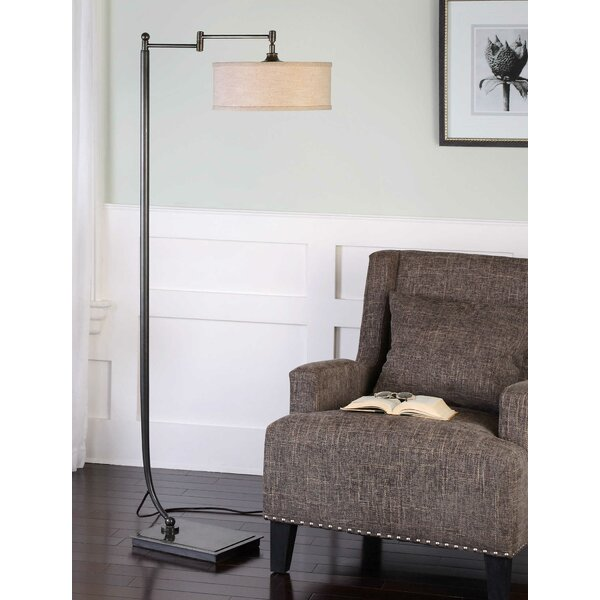 Perivale 62 Swing Arm Floor Lamp by Canora Grey