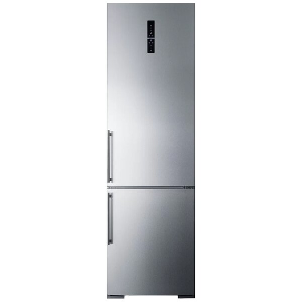 Summit Built-In 12.8 Cu. Ft. Counter Depth Bottom Freezer Refrigerator with Icemaker by Summit Appliance