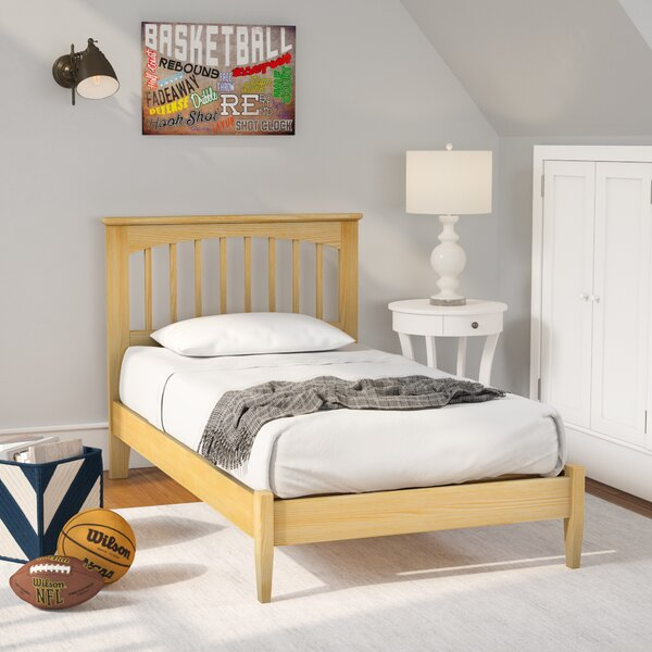 Poynor Maple Platform Bed by Harriet Bee