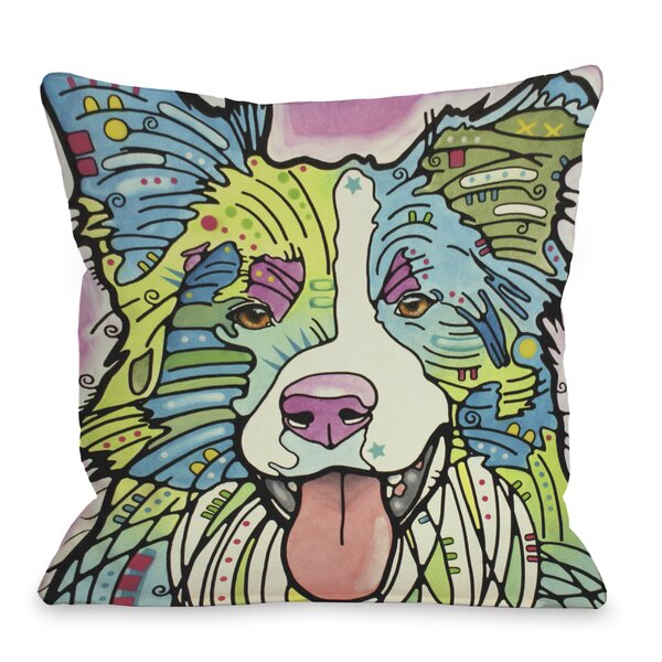 Doggy Décor Colly Throw Pillow by One Bella Casa