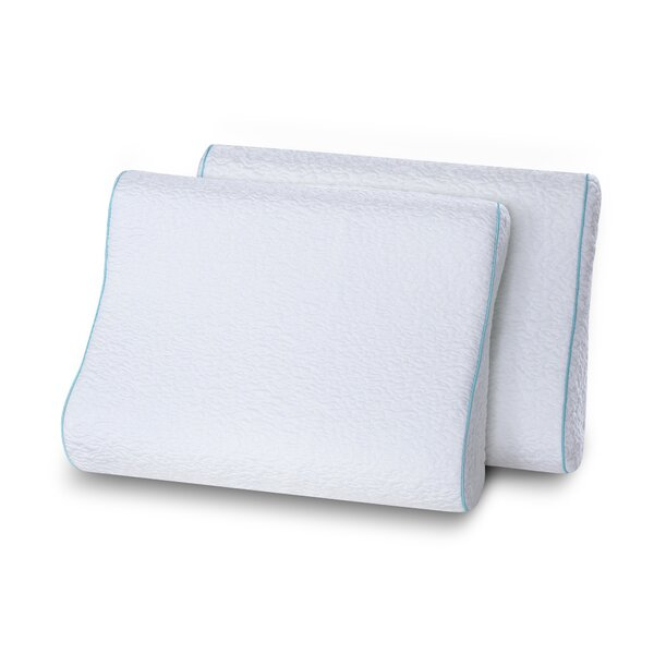 Althoff Dual Sided Contour Memory Foam Standard Pillow (Set of 2) by Alwyn Home